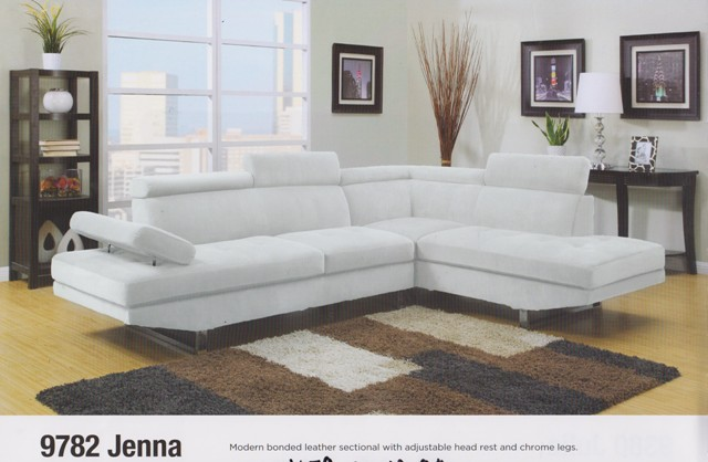 Sofa sectionnel cuir blanc vente montreal for Divan kijiji quebec