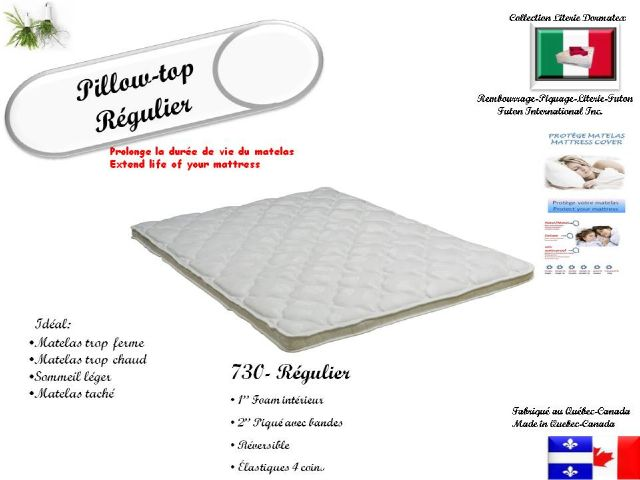 Futon inter 730 regulier flash decor for Matelas queen liquidation