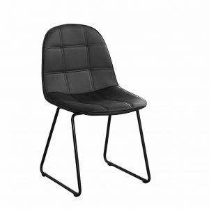 ifdc-c1765-chaise-en-similicuir-noir-flash-dcor